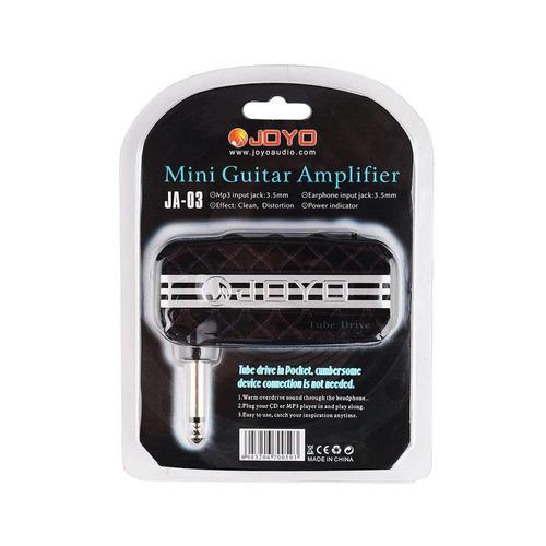 Mini Amplificador Joyo Tube Drive + Nf + Garantia