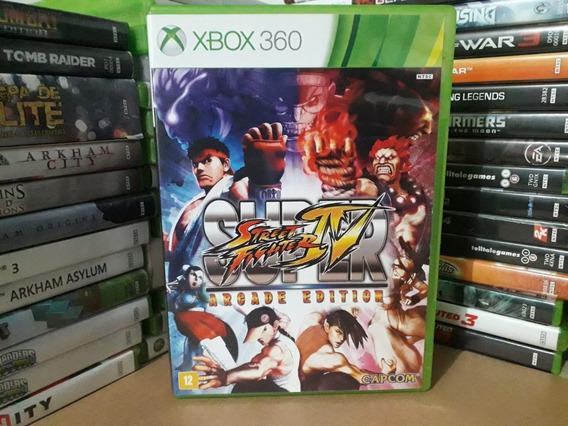 Jogo Luta Street Fighter 4 Arcade Edition Xbox 360 Original