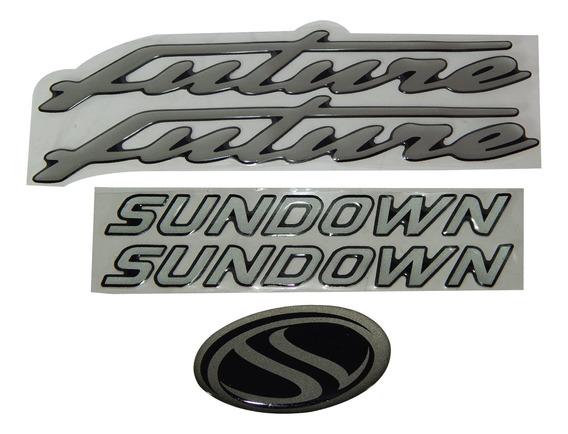 Kit De Adesivos Sundown Future 125 Original