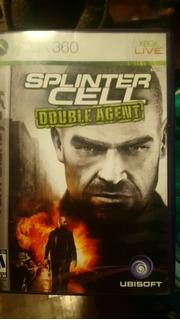Xbox 360 Juego Splinter Cell Double Agent