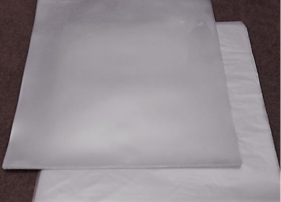 Kit 100 Capas Plástico Lp Vinil 12 Pol Externo + Interno