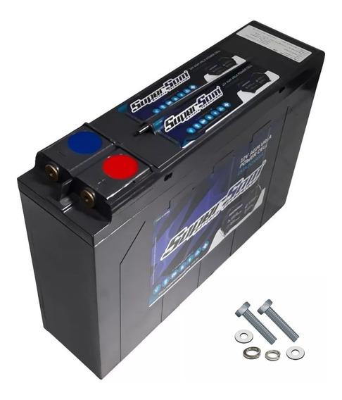 Bateria Slim 120ah Super Som Estacionária Energia Solar Agm