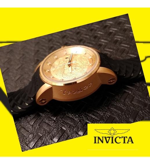 Relógio Invicta S1 Rally Yakusa - 15863 Preto Dourado