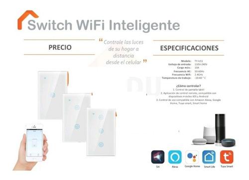 Switch Wifi Inteligente De 3 Luces