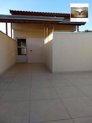 Cobertura Com 2 Dormitórios , Fino Acabamento À Venda Por R$ 245.000 - Jardim Santo André - Santo André/sp - Co0285