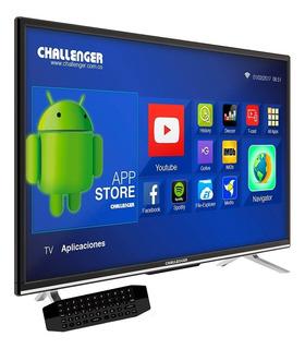 Televisor Led 43 Full Hd Smart Tv Android Challenger 43t18