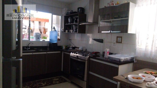 Imagem 1 de 18 de Sobrado Com 3 Dormitórios À Venda, 160 M² Por R$ 375.000,00 - Jardim Planalto - Mogi Das Cruzes/sp - So0369