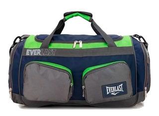 Bolso Everlast Deportivo Original Reforzado Gym Viaje Grande