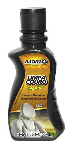 Limpa Couro Banco De Couro Automotivo Radnaq 200ml