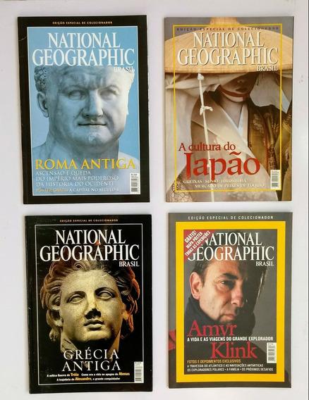 Lote 17 Revistas National Geographic - Edição Colecionador