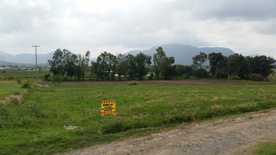 Remato!!! 3000 M2 En Esquina Camino A Tolometla Atlixco