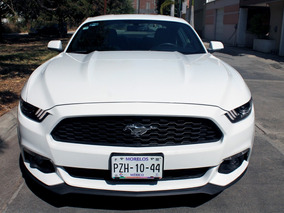 Ford Mustang Ecoboost Gps, Piel, 4 Cil Aut 2017