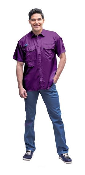 Camisas Ke Caballeros Manga Corta Ref: Cc04-28