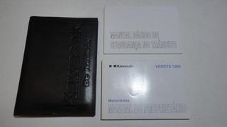 Manual Moto Kawasaki Versys 1000 2012 2013 Original Cycle