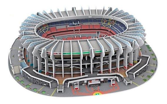 Rompecabezas 3d Estadio Azteca América Nanostad Nuevo