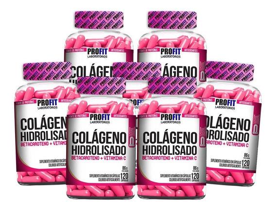 7 Colágeno Hidrolisado C/ Betacaroteno + Vitamina C 840 Caps