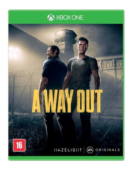 A Way Out (mídia Física) - Xbox One (novo)