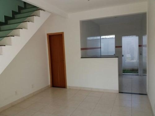 Imagem 1 de 12 de Casa Duplex À Venda, 2 Quartos, 1 Suíte, 1 Vaga, Campos Silveira - Ribeirão Das Neves/mg - 2907