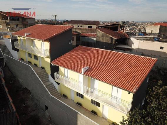 Sobrado Com 2 Dormitórios À Venda, 58 M² Por R$ 220.000 - Companhia Fazenda Belém - Franco Da Rocha/sp - So0823