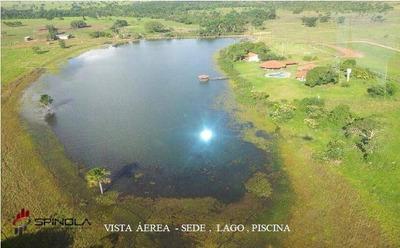 Fazenda Rural À Venda, Centro, Cocalinho. - Fa0010