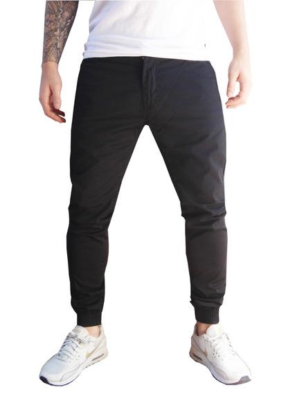 Pantalon Gabardina Con Puño-jogger-import Style