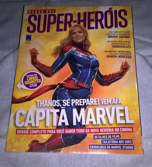 Revista Mundo Dos Super-heróis N° 101 Ed. Europa Cap. Marvel
