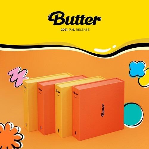 Cd Bts - Butter Random Version - Importado + Póster Regalo