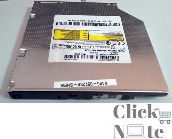 Gravador E Leitor Dvd E Cd Notebook Sata Modelo Sn-208