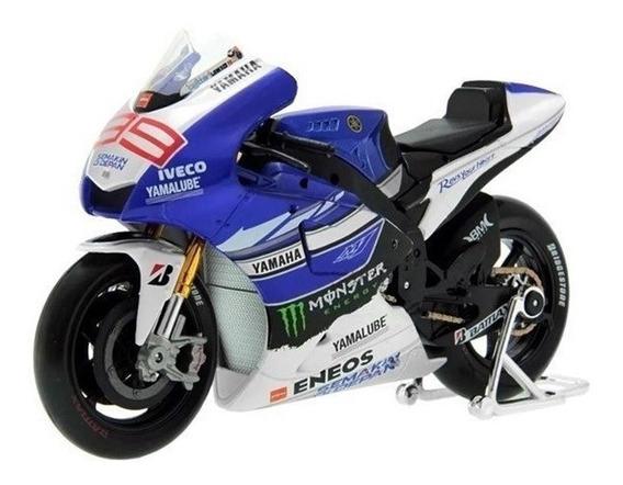 Miniatura Colecionável Moto Yamaha Factory Racing Nº99 31404
