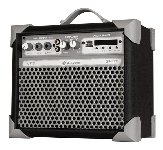Caixa Amplificada De Som Multiuso Ll Audio Up5 Preta 35w