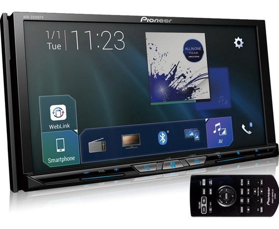 Dvd Player Pioneer Avh-z9280tv 7 Pol Wireless Tv Bt Youtube