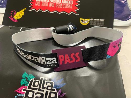 1 Ingresso - Lollapalooza 2021 Pass 3 Dias