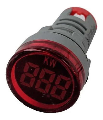 Imagen 1 de 2 de Medidor Consumo Kilowatts Digital Watts Ojo Buey No Acumula