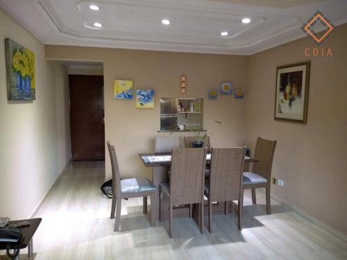 Apartamento Com 3 Dormitórios À Venda, 85 M² Por R$ 520.000,00 - Sacomã - São Paulo/sp - Ap44559