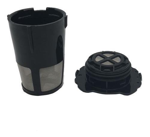 Filtro Permanente Reutilizable Hecho de pl/ástico Resistente al Calor y Red de Nylon com-four/® 2X Filtro de caf/é Continuo en tama/ño 4