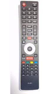 Control Remoto 452 Smartv 3d Bgh Jvc Tecla Netflix