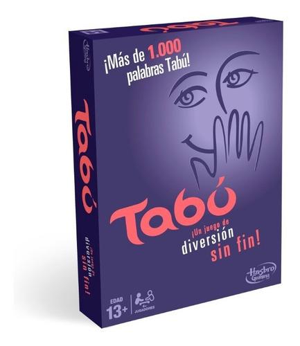 Juego De Mesa Tabu Hasbro 140176u De Eso No Se Habla