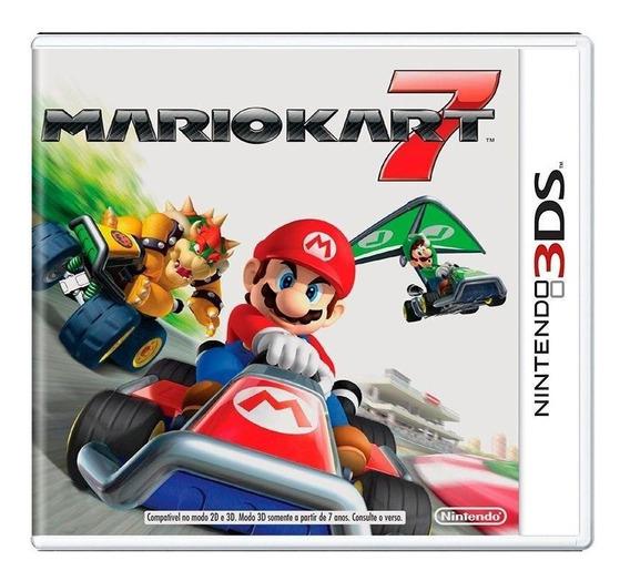 Mario Kart 7 3ds Mídia Física Pronta Entrega