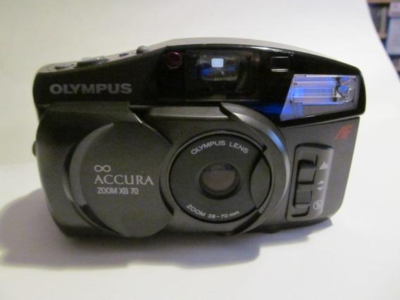Camera Fotografica Olimpus Accura Zoom Xb 70 Arte Som