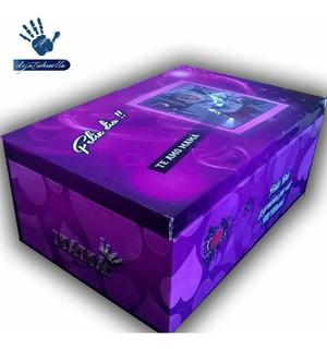 Caja Con Foto Personalizado (26x16x10)