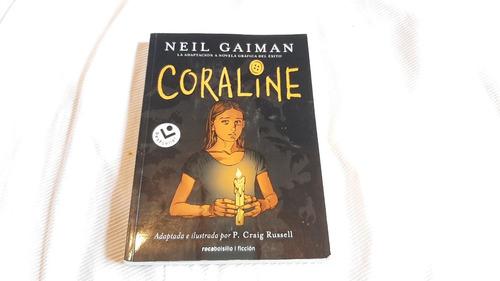 Coraline Neil Gaiman Rocabolsillo