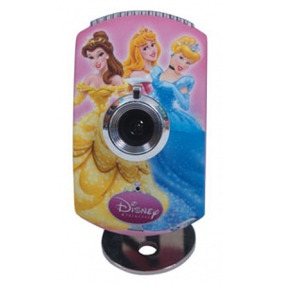 Webcam Usb 1.3 Mega Pixels Disney Princesas Original