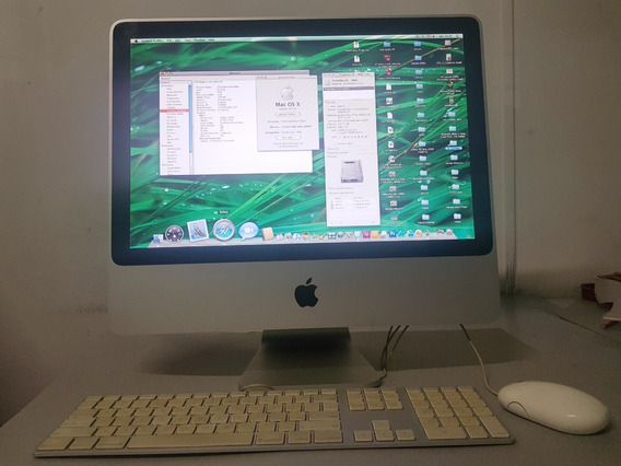 iMac 7,1 - Os X 10.5.8 Intel Core 2 Duo - Hd 232gb - Ram 1gb