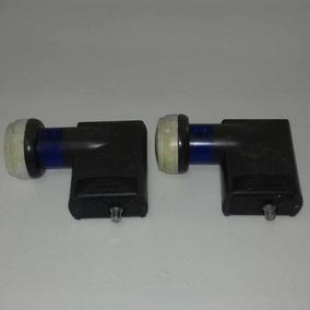 Kit 2 Un. Lnb Multiponto Azul Brasilsat - Oi Usado