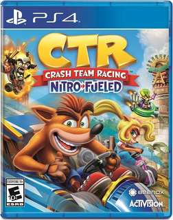 Crash Team Racing Nitro-fueled - Playstation 4 - Msi
