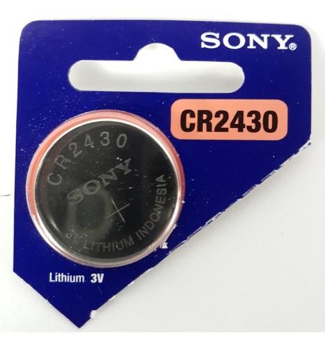 Pila Sony Cr2430 Litio 3.0 Volts Nueva En Blíster Sellado