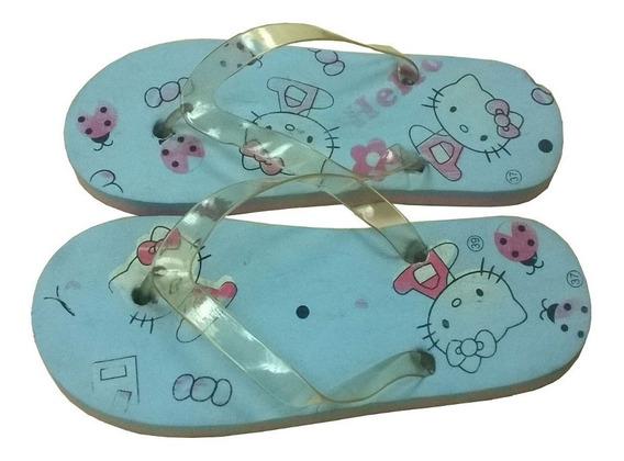 Cholas Hello Kitty Cotizas Talla 37 Para Chica S2