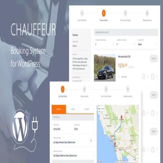 Chauffeur - Booking System For Wordpress Plugin Atualizado