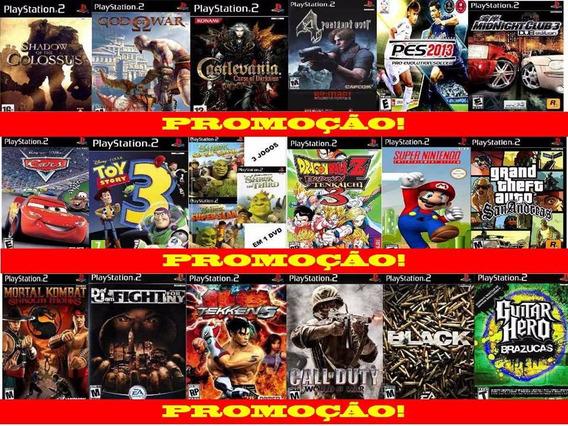Black Jogo Play 2 Ps2 Playstation 2 + Porta Cd (brinde)