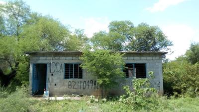 Terreno Con Casa En Ejido El Perico 20x50, Escriturado.